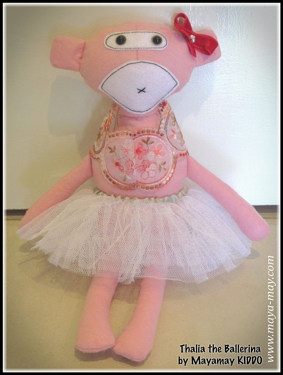 Meet our new plush friend THALIA by MM KIDDO!. |Price: AUD18.00 |www.maya-may.com |Enquiries: mayamay24@gmail.com. Text : Angela +61413504255 (Australia) #dolls #plushies #felt #handmade #kids #toys #gifts #crafts