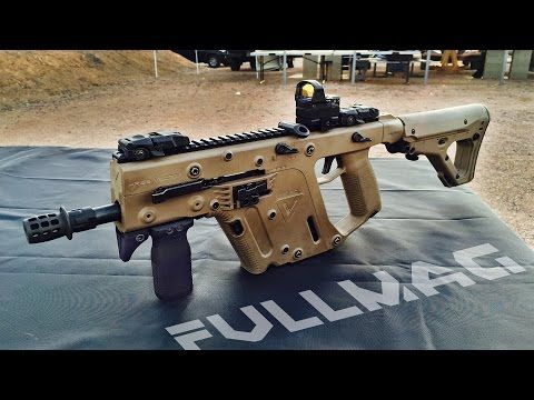 9mm Kriss Vector Submachine Gun #ShotShow - YouTube
