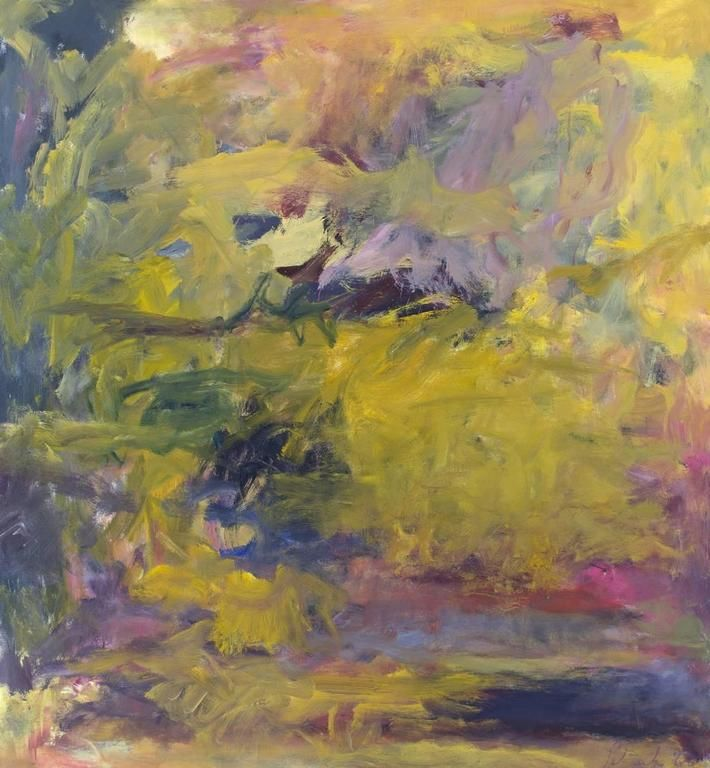Jon Schueler - Summer Sky: Loch Eishort (o/c 66-14) | 1stdibs.com