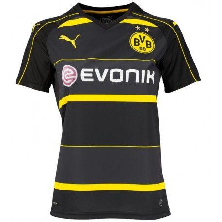 Maillot Borussia Dortmund Femme 2016-2017 Extérieur