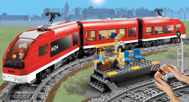 LEGO.com City Products - Trains - Passenger Train