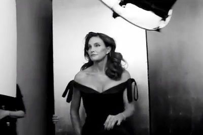 Bruce jenner is stunning in vanity fair