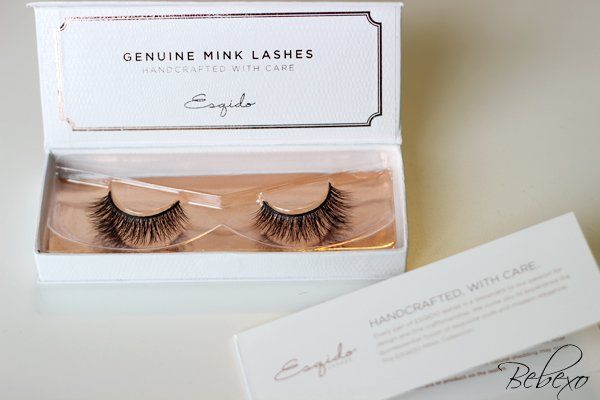 The Most Beautiful False Lashes - ESQIDO Mink Lashes in BFF