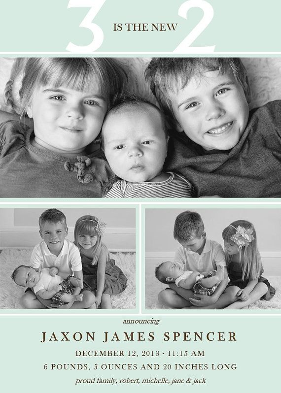 Best 25 Sibling Birth Announcements Ideas On Pinterest