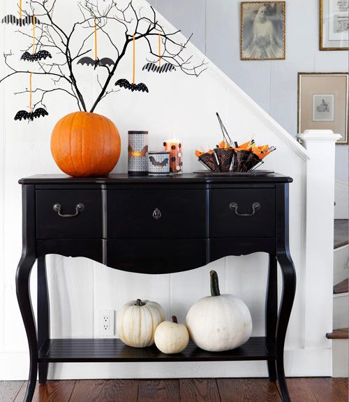 Homemade Halloween Decorations - DIY Halloween Decor Ideas - Good Housekeeping