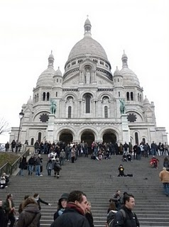 Sacre-Cour. Paris, France great spot to chill, relax and take it all in ;)