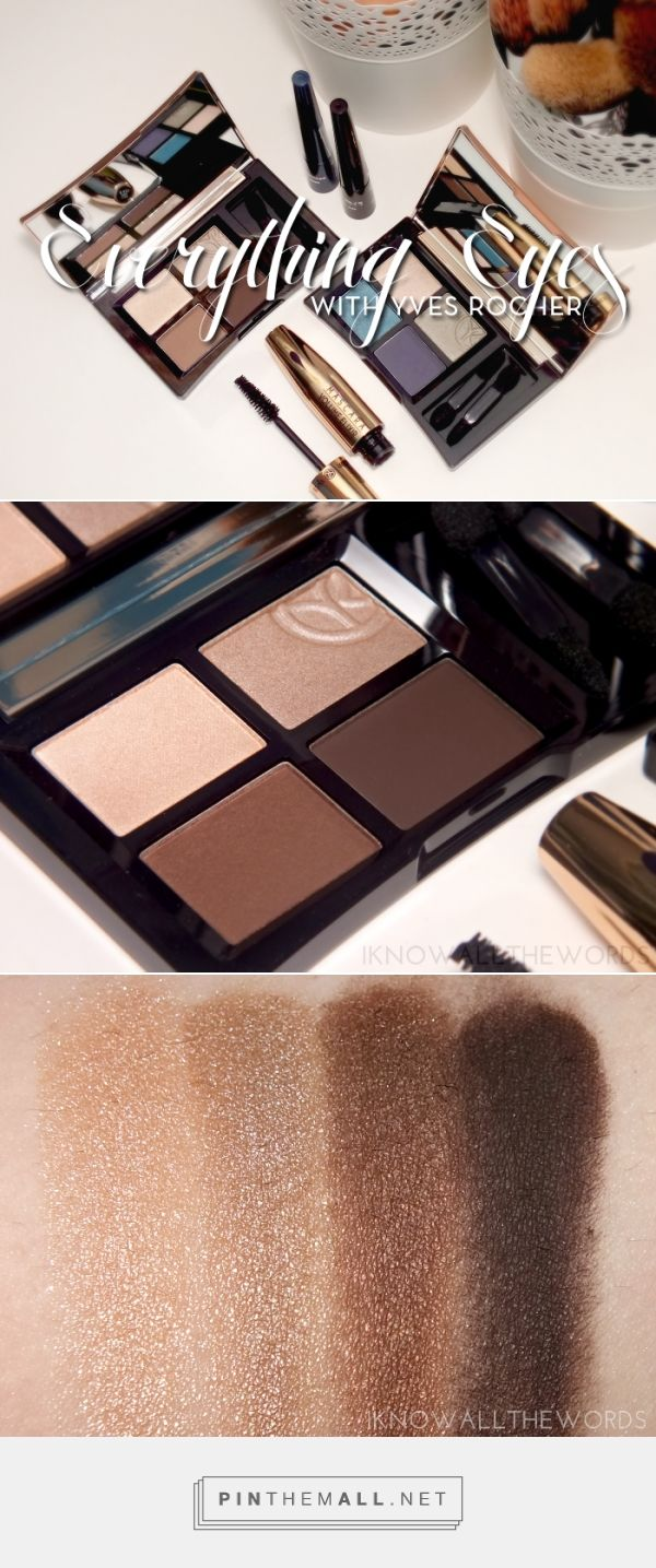 Everything Eyes with Yves Rocher Quad Eyeshadow Suptuous Colour in Incandescent Brown