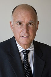 Jerry Brown, 34th and 39th-and-current Governor of California... Brilliant guy. Witty and engaging, smart and savvy.