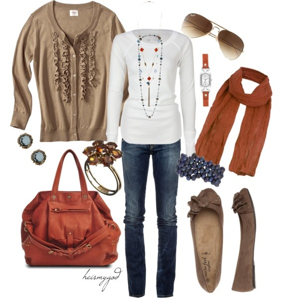 for fall...: Everyday Wear, Good Ideas, Weekend Outfit, Fall Style, Burnt Orange, Fall Outfits, Untitled 129, Blue Bracelets, Fashion Looks