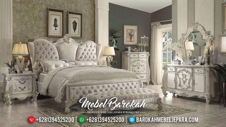 Set Kamar Tidur Klasik Modern Versailles Duco Murah Mewah Terbaru California JM-0429