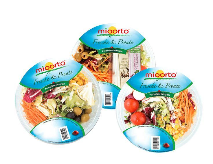 MIOORTO - packaging ciotole miste insalata