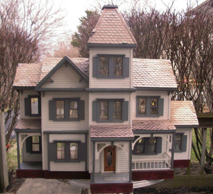 1718 best dollhouses artistic unique images on pinterest for Unique doll houses