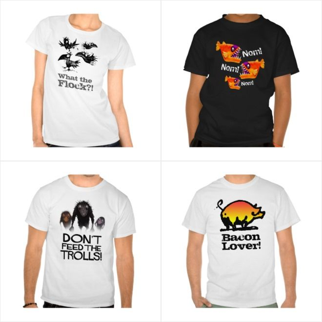 My Top 50 Funny Online T Shirts for men and women from #StrangeStore