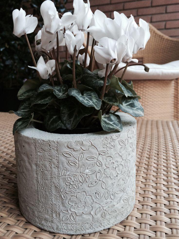 Concrete and lace