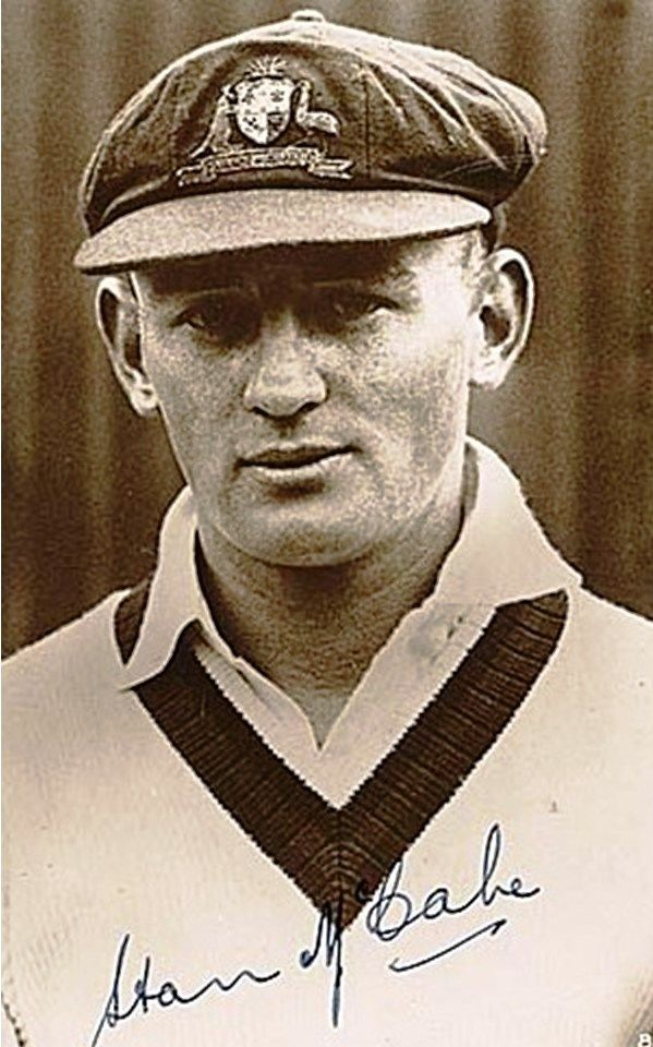 """134-Stanley Joseph """"Stan"""" McCabe played 39 Tests from 1930 to 1938. His captain Don Bradman regarded him as one of the great batsmen of the game. In 1932–33, McCabe made his breakthrough in the First Test at Sydney in the Bodyline series, scoring an unbeaten 187 in only four hours. In the First Test of the 1938 tour of England, McCabe scored 232 in four hours, including his last 72 in 28 minutes; Bradman regarded the innings as the greatest batting he ever saw. In all he scored 3746 at…"""