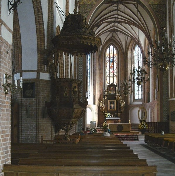 Marienkirche in Rügenwalde Kreis Schlawe