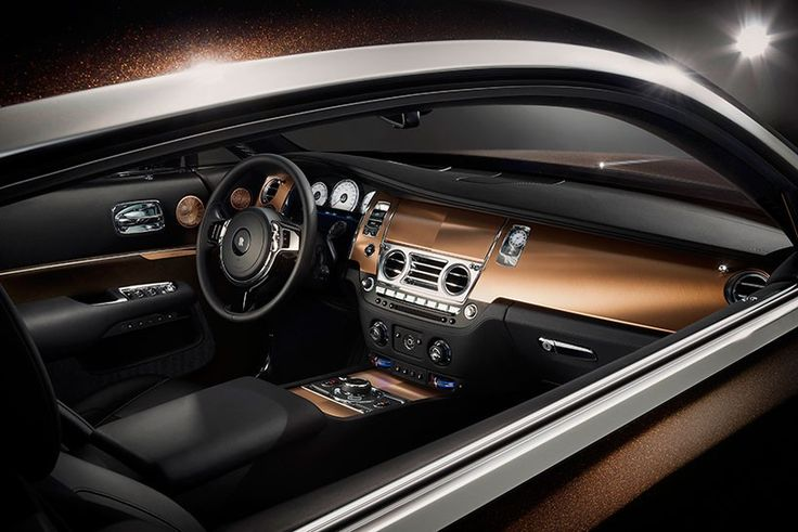 rolls-royce-wraith-inspired-by-music-designboom-02 the interior blends brushed copper with the exterior
