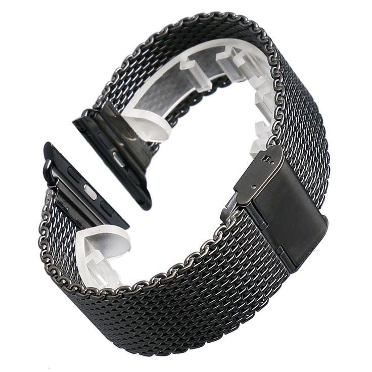 $9.41 (Buy here: https://alitems.com/g/1e8d114494ebda23ff8b16525dc3e8/?i=5&ulp=https%3A%2F%2Fwww.aliexpress.com%2Fitem%2FStainless-Steel-Apple-Watch-Band-Bracelet-Buckle-Clasp-Mesh-Watch-Strap-For-Apple-iWatch-Strap-Women%2F32649772401.html ) Stainless Steel Apple Watch Band Bracelet Buckle Clasp Mesh Watch Strap For Apple iWatch Strap Women Men for just $9.41