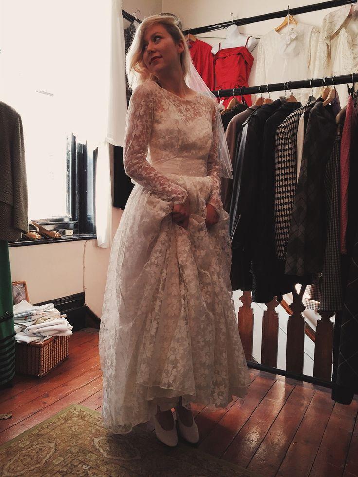 Vintage Wedding Dresses.  www.fieldstaffantiques.com