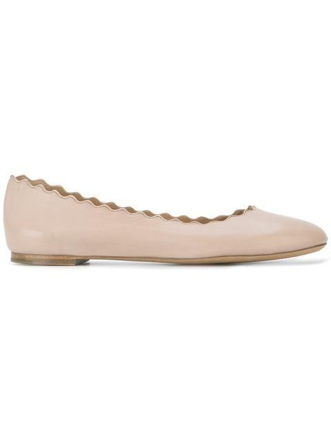Shop Chloé 'Lauren' ballerinas.