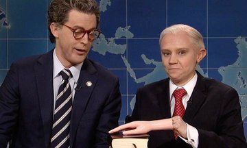Kate McKinnon's Sessions Gets Oily With 'Al Franken' On 'SNL' | The Huffington Post