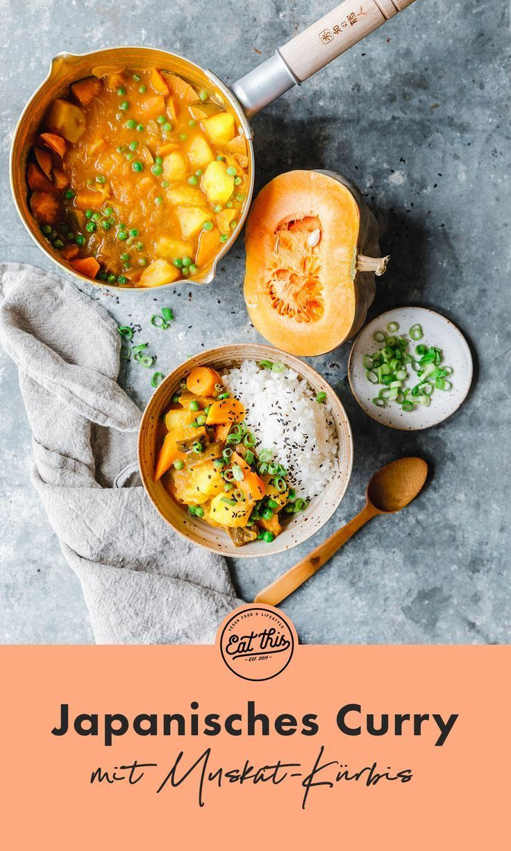 Japanisches Curry Mit Muskat Kurbis Eat This Foodblog Vegane Rezepte Stories Rezept Japanisches Curry Japanisches Essen Japanische Gerichte