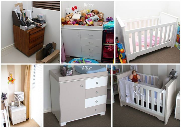 Revamped furniture - Nursery Project