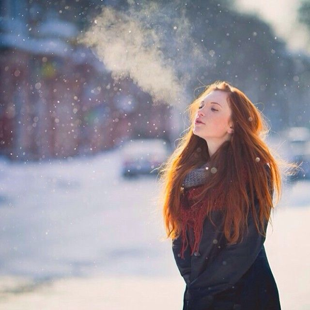 Stay warm! #red #hair #cbdsalon