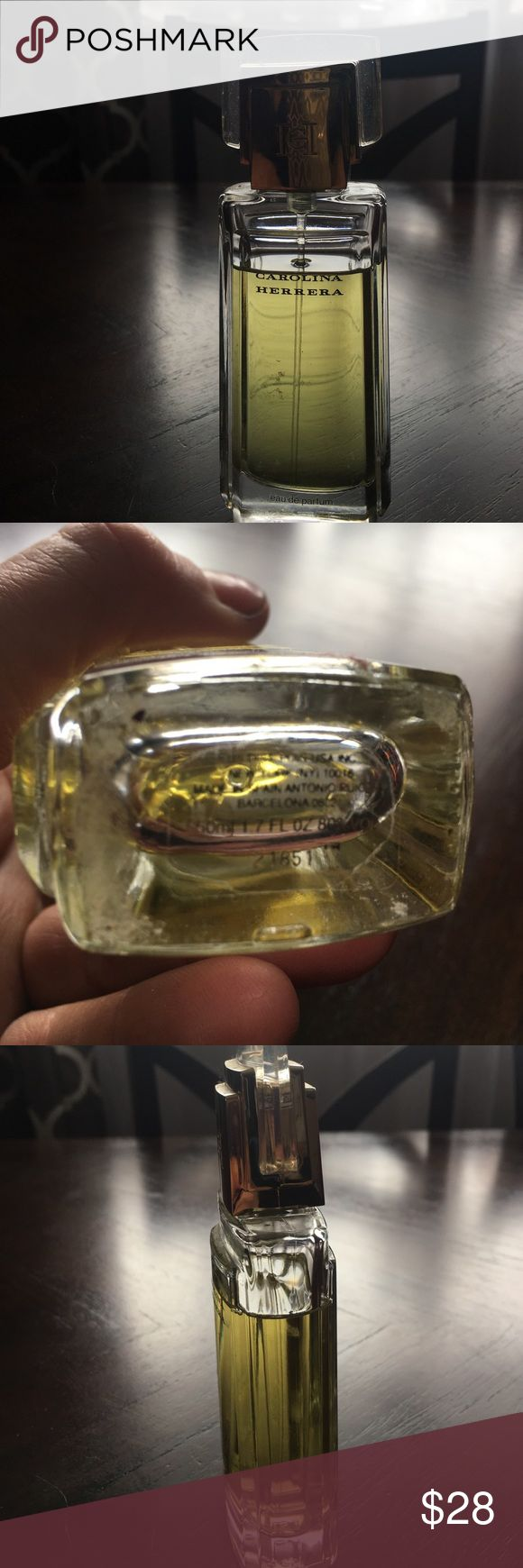 Carolina Herrera perfume Carolina Herrera perfume 1.7 fluid ounces it has barely been used possibly a quarter of it even less. I have a discounted this accordingly so Carolina Herrera Other