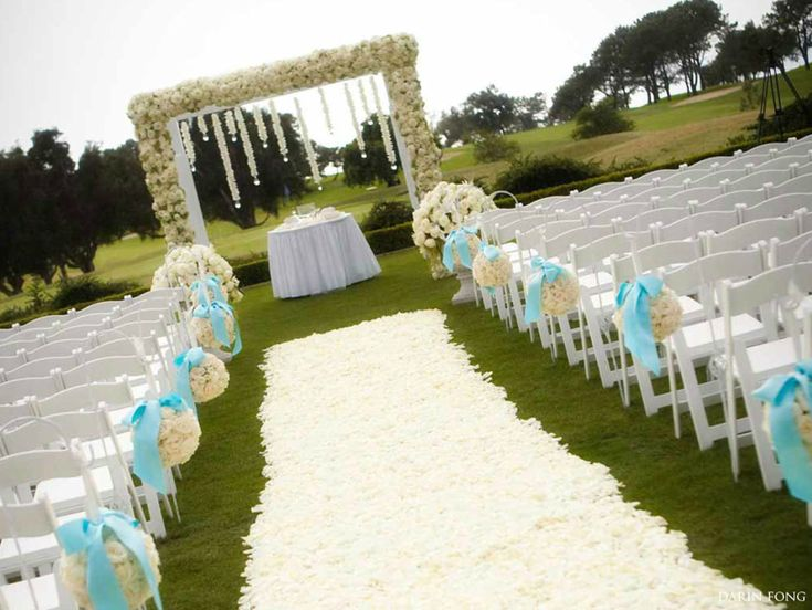 Elegant Wedding Ceremony Decorations : Wedding deco on receptions and green weddings