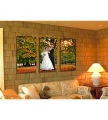 Üçlü Panorama Canvas Duvar Tablo