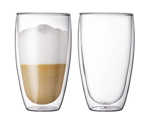 Double-Wall Insulated Coffee Mug Best Offer 2017. Bodum PAVINA Coffee Mug, Double-Wall Insulated Glass Mug, Clear, 15 Ounces Each (Set of 2). Protected MUG: An arrangement of two twofold divider PAVINA mug. Double-Wall Insulated Coffee Mug #Double-Wall #Insulated #CoffeeMug