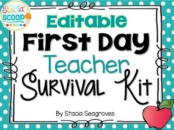 A Teacher Survival Kit is a fun back to school gift that your teachers will love! This pack includes First Day of School Teacher Survival Kit pre-made cards, plus templates of each to make your own! Are you getting ready for testing season?