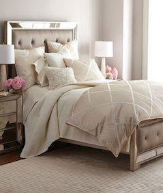 Pretty tan bedding set
