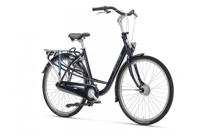Rower Miejski Damski Batavus Mambo Delux. Połączenie zmysłowości i wygody. Idealnie prosta sylwetka w trakcie jazdy pozwala zrelaksować się prowadząc rower. http://damelo.pl/damskie-rowery-miejskie-rekreacyjne/762-rower-miejski-damski-batavus-mambo-delux.html