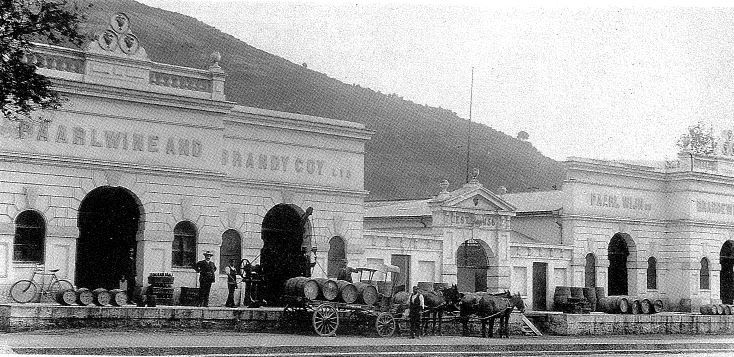 Paarl Wine and Brandy Co. 1856
