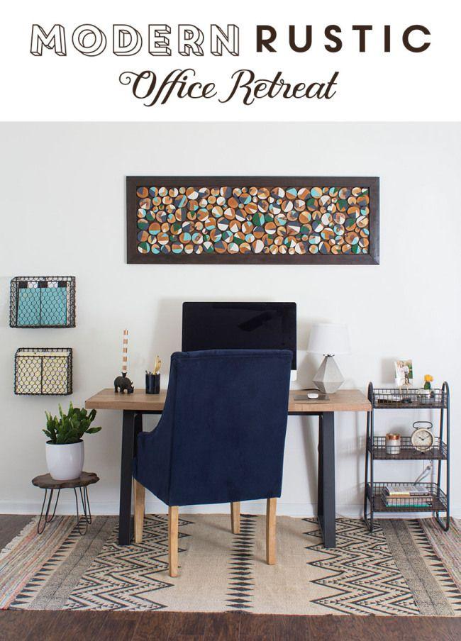 Best 25 Modern Rustic Office Ideas On Pinterest Mid