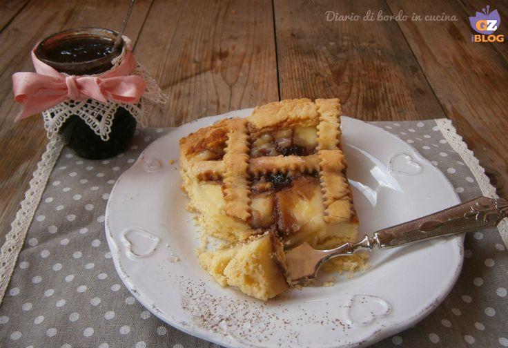 Crostata amalfitana crema e amarene