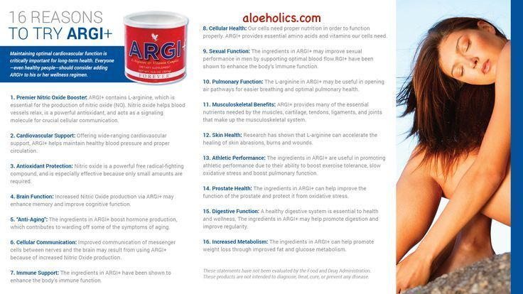 Argi Plus a product you will love! http://aloeholics.com