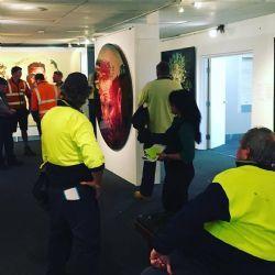 BVSC outdoor staff visit to the Archibald Tour 2017 :
