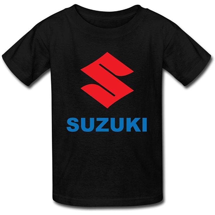 Suzuki Motor Logo Youths T Shirt Large Black Unisex 13408 17 90 Motor Logo Suzuki Suzuki Motor