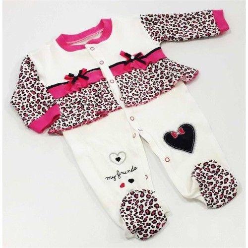 Leopar Desenli Kız Bebek Tulumu 15,90 TL ile n11.com'da! Real Madrid Tulum fiyatı ve özellikleri, Bebek Giyim kategorisinde.