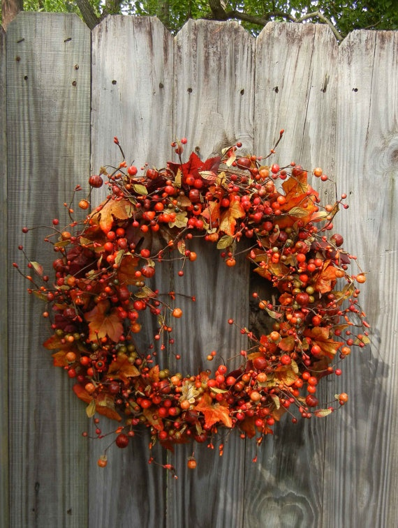 Another Fall wreath lol :)