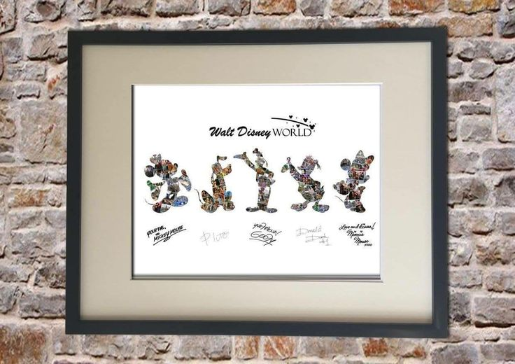 Disney Mickey & Friends Collage