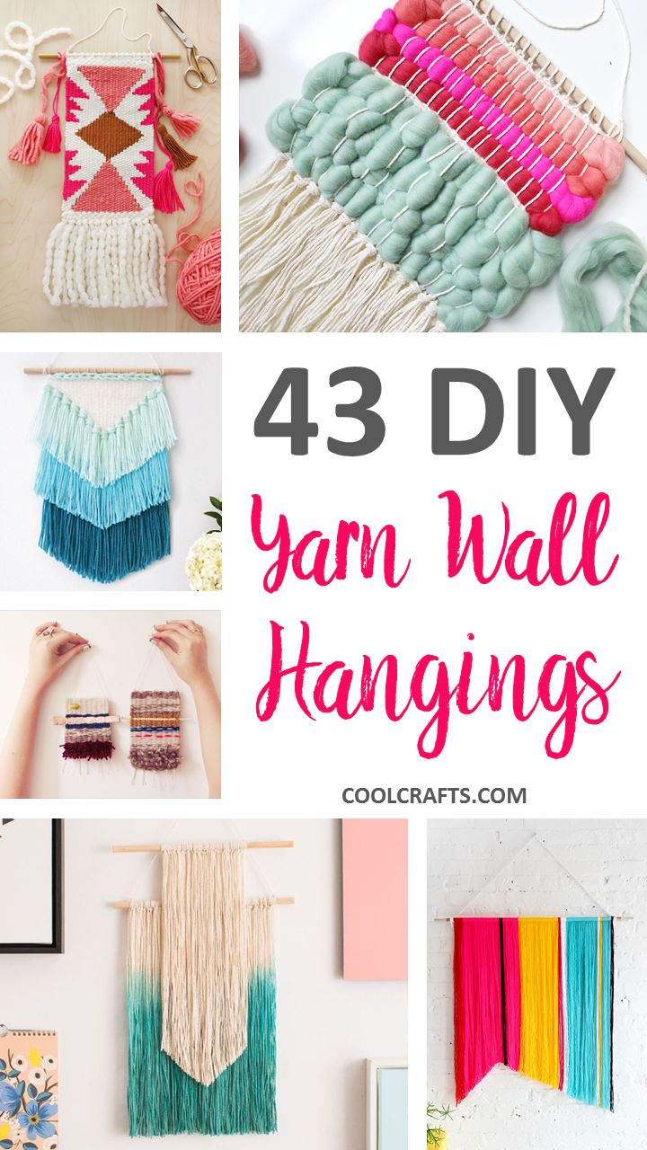 We've rounded-up 43 of the best woven wall hanging tutorials. So far, it's the largest collection of the trendy, do-it-yourself projects that you'll find.