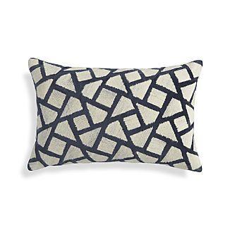 """Nikko Blue 20""""x13"""" Pillow   #CRATEWEDDINGx100LC"""
