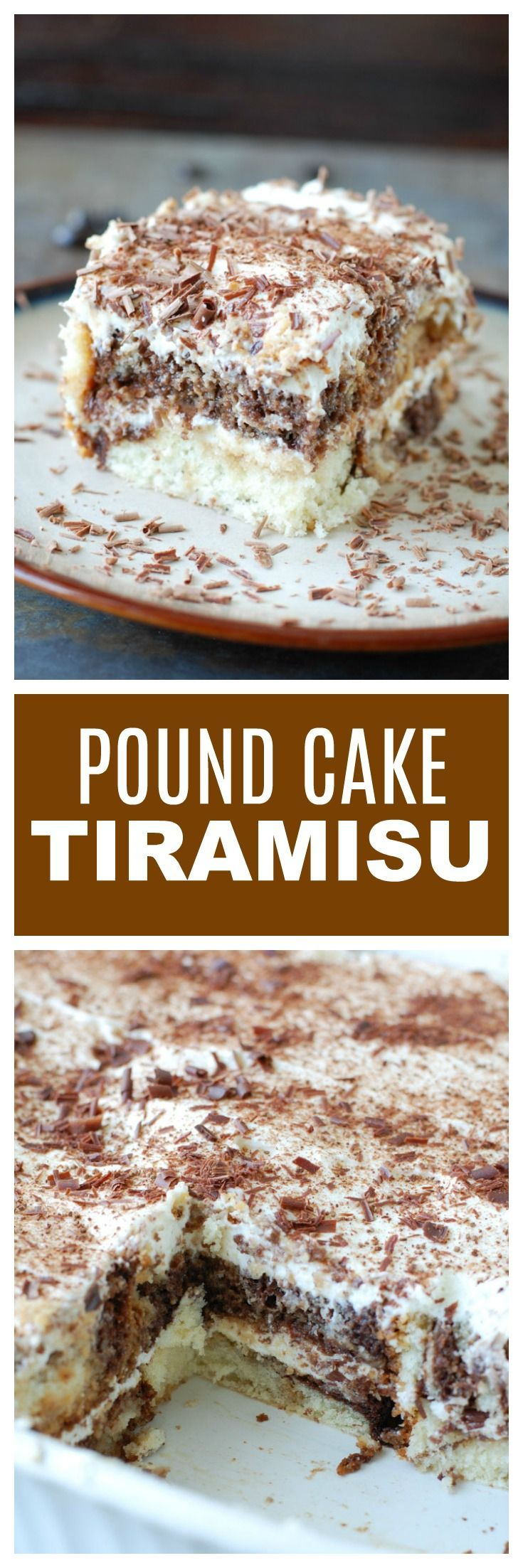 Easy Pound Cake Tiramisu: | Posted By: DebbieNet.com