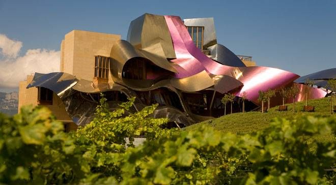 Hotel Marques Riscal in Elciego, Spain