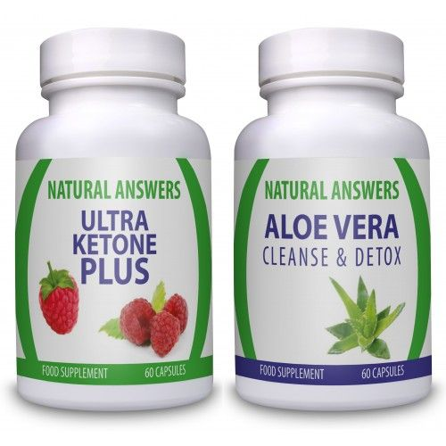 Ultra Ketone Plus and Aloe Vera is ideal for fast results. Aloe Vera is a Colon Cleanse that will help you feel lighter and Ultra Ketone Plus is a raspberry ketone supplement ideal to help lose weight easily.