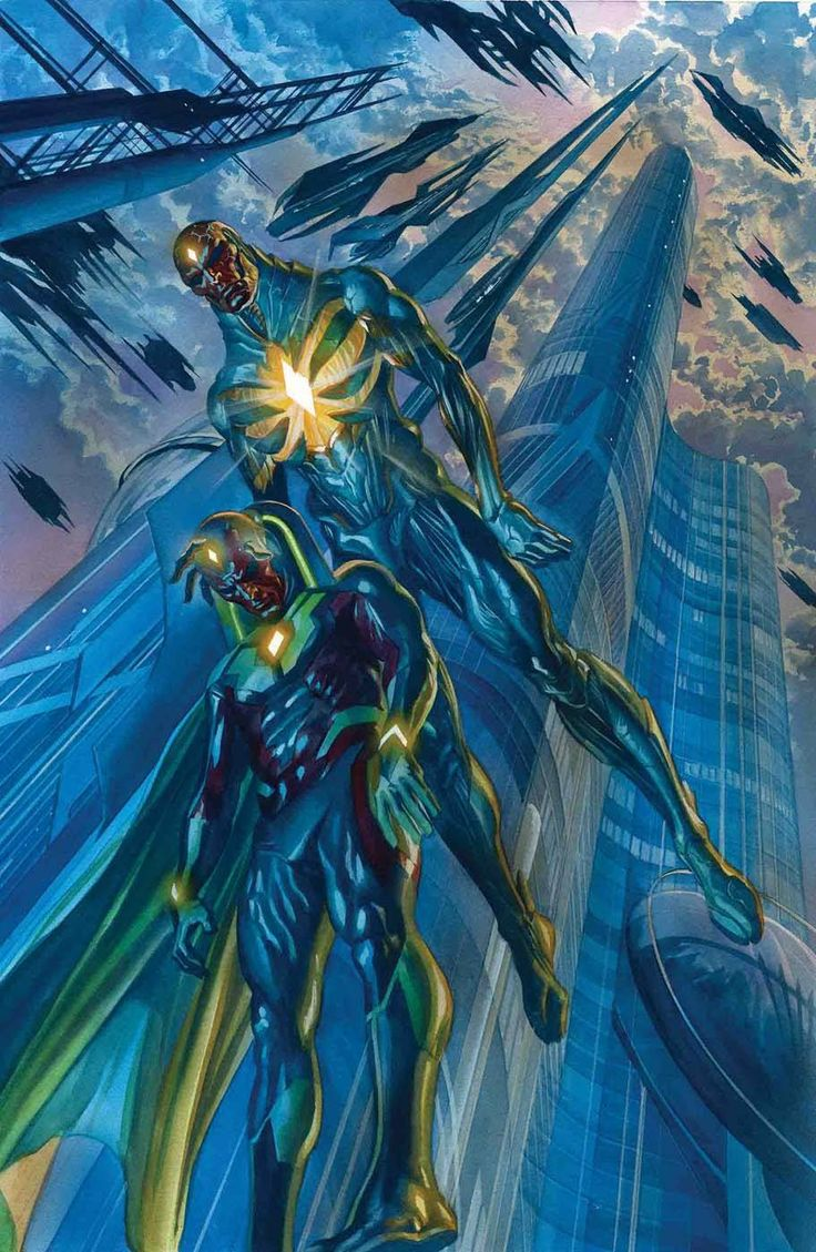 Avengers #5 - Vision by Alex Ross *